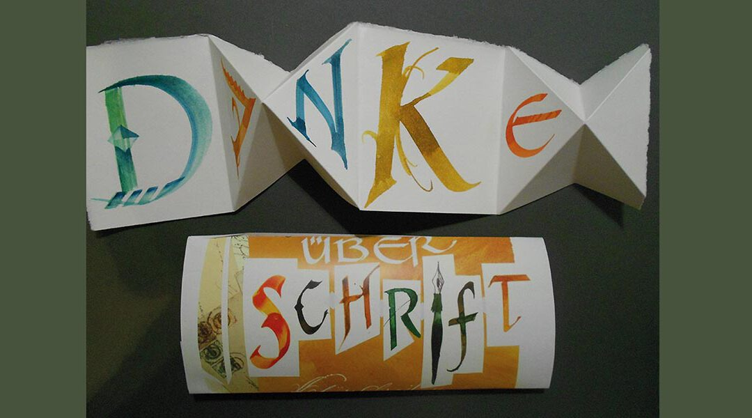 Kalligrafie-Wochenend-Workshop – Vorschau